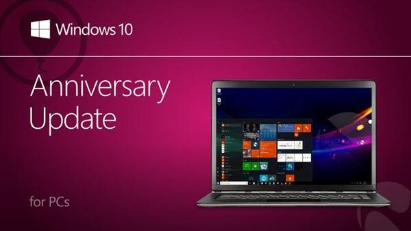 Mise à niveau vers Windows 10 1607 Build 14393.10